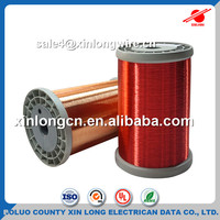 SWG / AWG Enameled Copper Round Wire Magnetic Wire For Winding Motor