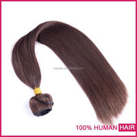 Grade 7A best quality large stock dark brown hair color pictures