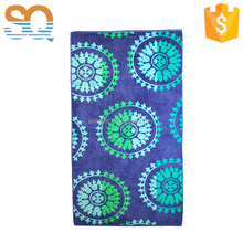 100% organic cotton terry beach towels with logo reactive print