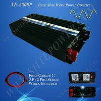 2015 grade one off grid pure sine wave 2500w dc ac 12v 120v tbe power inverter