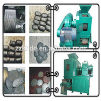 Coal pellet forming machine