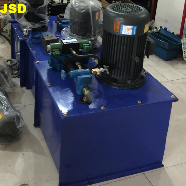 2017 new design 220 V small power hydraulic pump stations from JSD factory