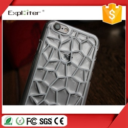 Fashionable Crystal Transparent Full Body Mobile Phone Cover Case
