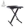 wholesale china quality clack color comfortable folding lift keyboard stool chair