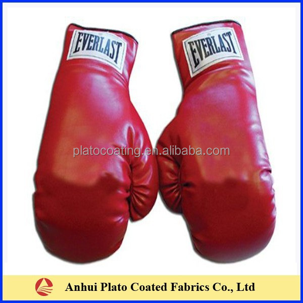 high quality pvc coated boxing glove fabric