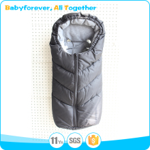 Outdoor Warm Comfortable Baby Stroller Sleeping Bag with zipper