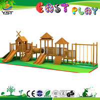 hot commercial grade Everest giant outdoor playground,kids outdoor wood playground