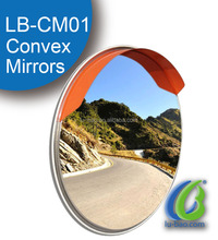 High quality glass convex mirror for outdoor