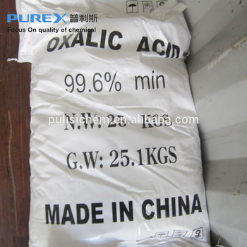 OXALIC ACID 99.6% H2C2O4 for dyeing textile leather marble polish