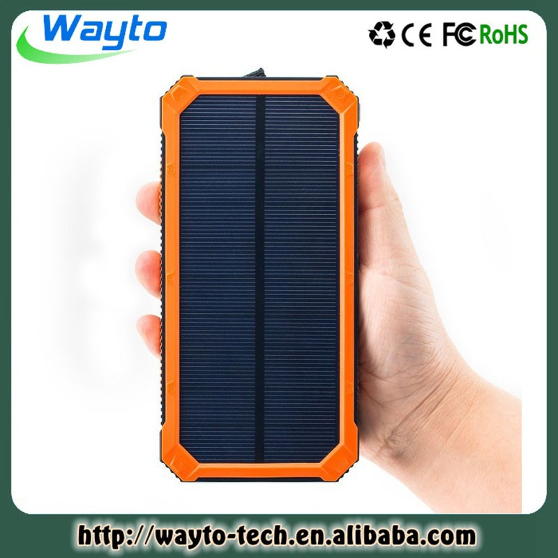 Mobile Watch Phones Best Sell In Amason 15000Mah Portable Solar Charger 15000 Mah Power Bank