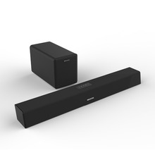 Wireless Home Theater System Soundbar 2.1 Speaker with Stereo Subwoofer