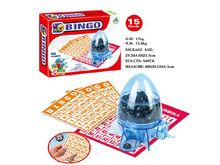 family play game new design ABS indoor bingo game set with EN71