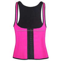 instyles 3 material latex vest sexy latex waist trainer corset women bodyshapper sliming 3 hook long tosor