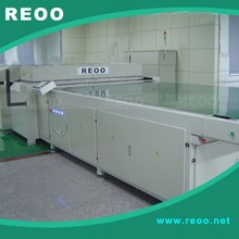 REOO Full automatic laminator for solar panel( high efficiency, touch screen, Turnkey) 3600*2200mm for PV module