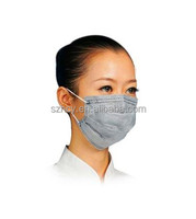 Clear face mask for food service