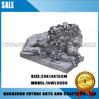 Garden resin lion Sculpture Statue