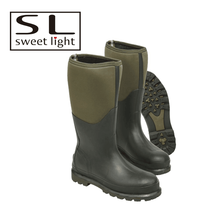 High Quality Waterproof Men Rubber Hunting Neoprene Boots