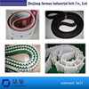 High Quality Customer Designed Red Rubber Covered Pu Timing Belts