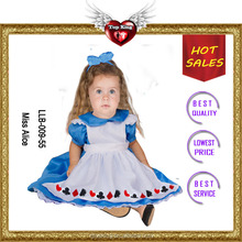 Mordern Halloween Party Costumes Baby Cosplay Costumes for Little Girl