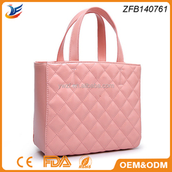 shoulder bag style pu material famous brand tote bag