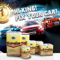 KINGFIX free samples car paint export to south africa