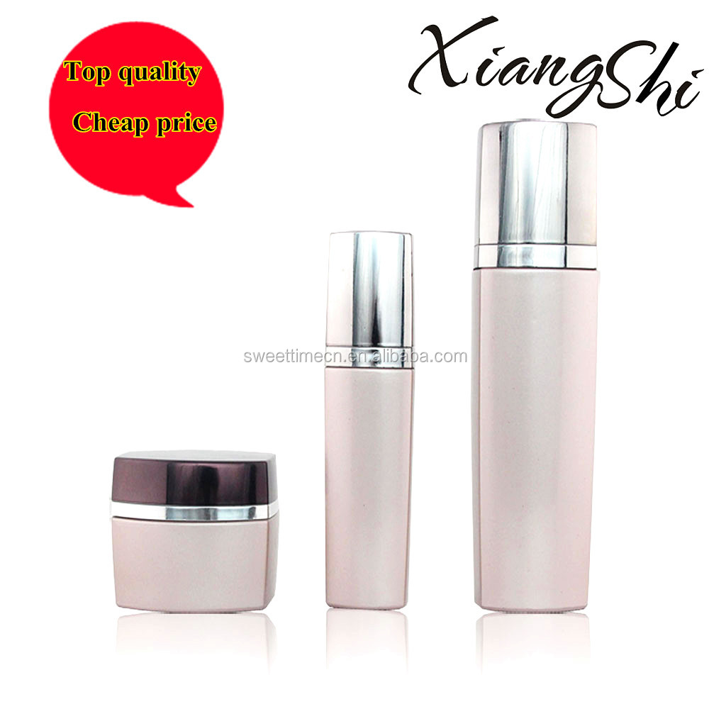 french square glass bottles for cosmetic cream