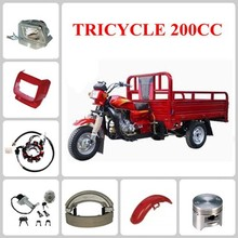 TRICYCLE motorcycle spare part Fuel Cock & Oil Tank & Seat