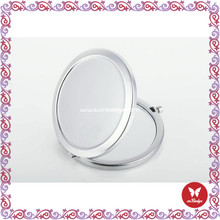 2015 three way mirror for eye makeup supplier hand folding compact mirror