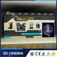 Children Game Hydraulic 5D Cinema Including the Outside Cabin/Box