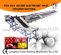 Hot Sale Fushi Brand CE and ISO 9001 fruit sorting machine , citrus fruit selection machine