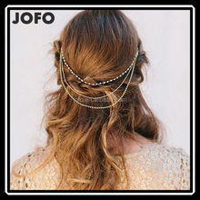Wholesale Hot Selling Fashion Jewelry Hair Head Beading Chain