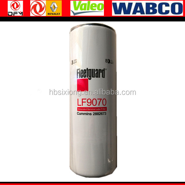 Dongfeng original hot sale heavy truck's engine parts LF9070 3883673 oil filter