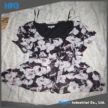 HIG brand 100% cotton used clothes womens dresses wholesale clothing used clothing wholesale