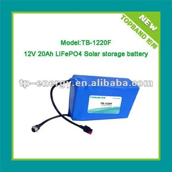Nano!! lifepo4 12V battery for golf trolley