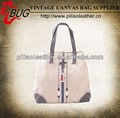 Latest Unisex Canvas shopping bag with aztec print wholesale