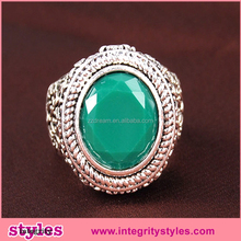Fashional Antique Vogue Luxury Brass Ring Jewelry