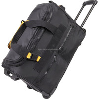 Designer Waterproof Trolley Duffel Luggage Bag For Travelling and Camping