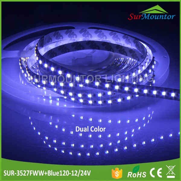 OEM Accept 3 pin led strip light blue color and white color