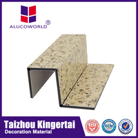 Alucoworld offer good quality wood external plastic composite exterior wall cladding