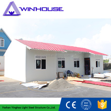 Villa Style Small Modern Prefabricated Light Frame House