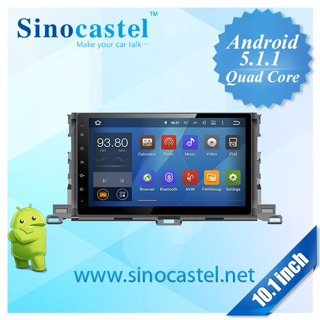 10.1 inch HD capacitive touch screen and 1080P FHD video player DVD player for car