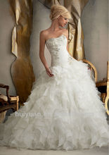 corset two-piece wedding gown
