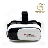 Plastic light weight small size VR Case Sexy movie Viewing Glasses for Smartphones
