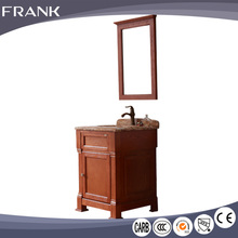 Frank italian modern hotel bathroom double sink vanity cabinet with drawers