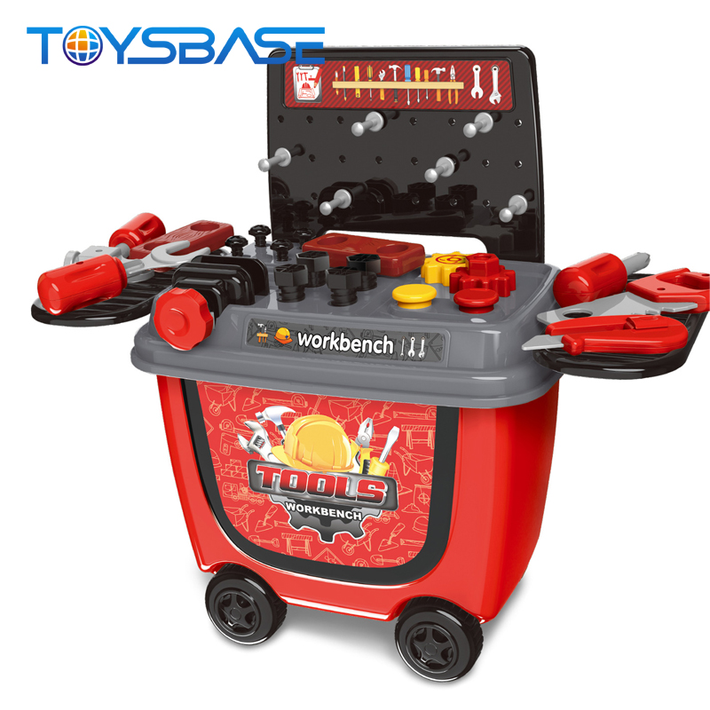 Plastic Workbench Toy For Kids Table Toy Tool Set