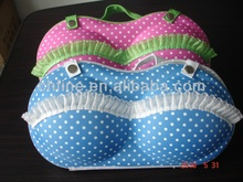 fashion polka dots travelling bra case for lady