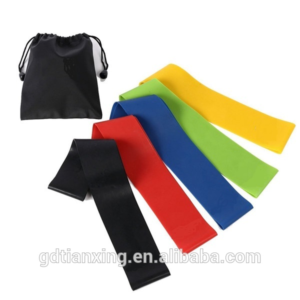 Resistance Band Set - different levels Exercise Bands exercise stretch band