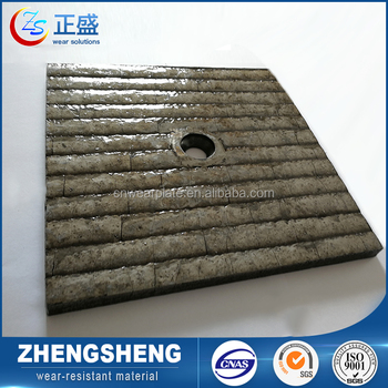 High hardness anti-friction overlay abrasive resistance plate clad wearable steel plate