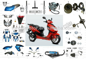 Spare Parts for Motorcycle for DS150, High Performance Parts