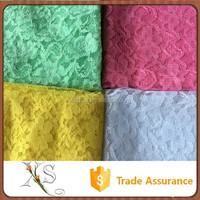 china supplier Paris Fashion Week Super Model Embroidery Macarons Lace Fabric